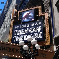 Photo taken at Spider-Man: Turn Off The Dark at the Foxwoods Theatre by Aditya A. on 6/23/2012