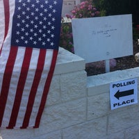 Photo taken at Polling Place by Chuck W. on 6/5/2012