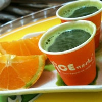 Photo taken at Juice Works by Sahara T. on 6/22/2012