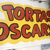 Photo taken at Tortas Oscar's by Daniel V. on 6/30/2012