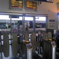 Photo taken at Upminster Railway Station (UPM) by Steve C. on 5/18/2012