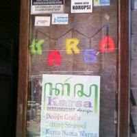 Photo taken at Karsa Design by Zainal A. on 9/5/2012