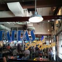 Photo taken at Pappas Seafood House by Brandun B. on 8/28/2012