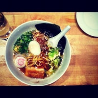 Photo taken at Momofuku Noodle Bar by Vadim V. on 5/13/2012