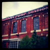 Photo taken at C.H. Evans Brewing Co. at the Albany Pump Station by Andrew M. on 7/28/2012
