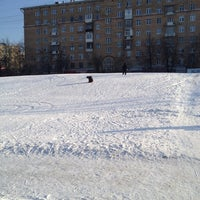 Photo taken at Горка На Звездном Бульваре by Dmitry K. on 2/14/2012