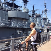Photo taken at Buffalo & Erie County Naval & Military Park by Jodi K. on 7/14/2012