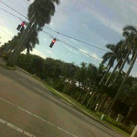 Photo taken at Glades Rd. & Powerline Rd. by Publicly M. on 2/21/2012