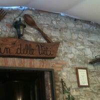 Photo taken at Osteria Pian Delle Viti by Ivan B. on 6/17/2012
