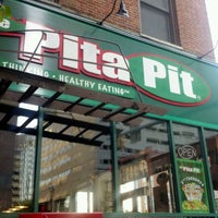 Photo taken at The Pita Pit by sarah d. on 5/12/2012