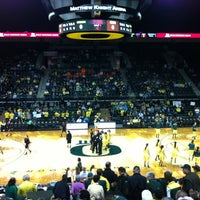 Photo taken at Matthew Knight Arena by Jaden B. on 2/25/2012