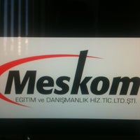 Photo taken at meskom by Gözde K. on 8/24/2012