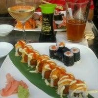 Photo taken at Zest Sushi & Tapas Bar by Genny B. on 9/7/2012