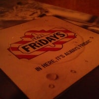 Photo taken at TGI Fridays by Nikolas M. on 6/28/2012