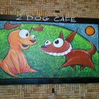 Photo taken at 2 Dog Restaurant by Camille R. on 7/22/2012