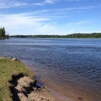 Photo taken at Озёрно-речная система «Вуокса» by lizzaK on 6/30/2012