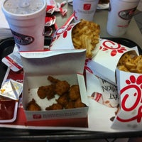 Photo taken at Chick-fil-A by Caroline Y. on 8/13/2012