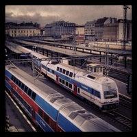 Photo taken at Prague Masaryk Railway Station by Jiří H. on 4/25/2012