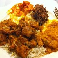 Photo taken at Taste of Tandoor Indian Cuisine by Ian D. on 5/8/2012
