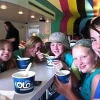 Photo taken at Olo Yogurt Studio by Laura O. on 4/24/2012