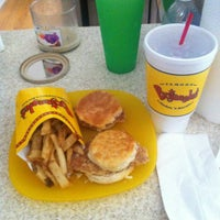 Photo taken at Bojangles' Famous Chicken 'n Biscuits by Chase F. on 7/1/2012