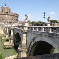 Photo taken at Ponte Sant'Angelo by Karsten H. on 6/29/2012