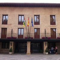 Photo taken at Parador Santo Domingo de la Calzada by Daniel D. on 6/2/2012