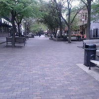 Photo taken at Pedestrian Mall by Therese T. on 4/14/2012