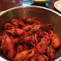 Photo taken at Bayou City Seafood & Pasta by Brandi L. on 3/12/2012