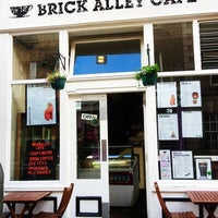 Photo taken at Brick Alley Cafe by TeaBelly on 6/30/2012