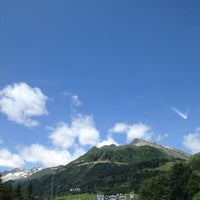Photo taken at Gotthard Strassentunnel by andrea c. on 7/16/2012