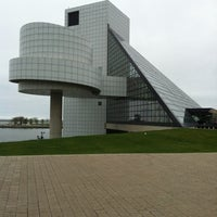 Photo taken at Rock & Roll Hall of Fame by Kathy J. on 4/21/2012