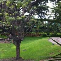 Photo taken at Ex-Hacienda Casasano by Ibn A. on 6/1/2012