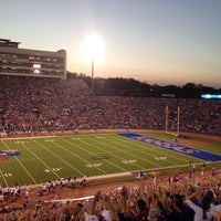 Photo taken at Memorial Stadium by Alisha T. on 9/2/2012