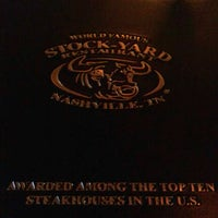 Photo taken at Stock-Yard Restaurant by Danielle C. on 6/8/2012
