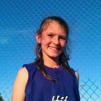 Photo taken at Softball Field by Francesca M. on 5/22/2012