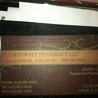 Photo taken at Plum St Pharmacy by Leigh G. on 4/24/2012