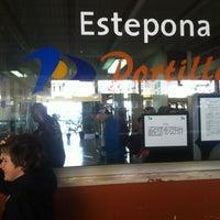 Photo taken at Estación de Autobuses de Estepona by Baradach on 4/10/2012