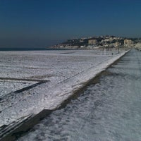 Photo taken at Plage du Havre by Thomas A. on 2/7/2012
