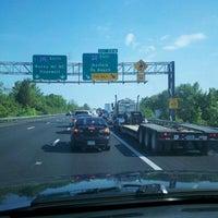 Photo taken at I-295 Exit 28/I-64 by Lindsey C. on 5/7/2012