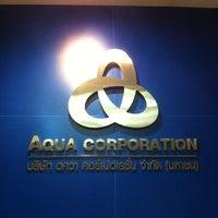 Photo taken at Aqua Corporation PCL by TIKAP A. on 4/11/2012