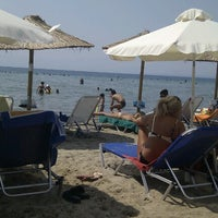 Photo taken at Beach Loca Bar by Alexandros M. on 8/19/2012