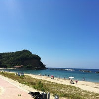 Photo taken at 久手海水浴場 by Kimurat59 on 7/29/2012