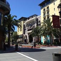 Photo taken at Santana Row by Andrew E. on 6/8/2012