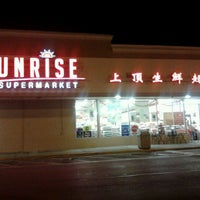 Photo taken at Sunrise Supermarket by Debi H. on 2/22/2012