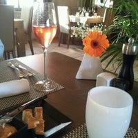 Photo taken at Arbre (restaurant du carrefour de l'arbre) by Fanny P. on 8/10/2012