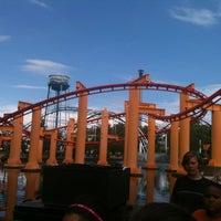 Photo taken at Iron Dragon by Jim C. on 7/19/2012