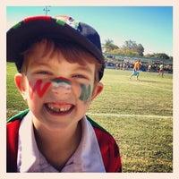Photo taken at Kougari Oval by Pete W. on 9/8/2012