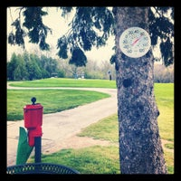 Photo taken at Petrifying Springs Golf Course by Katie M. on 4/20/2012