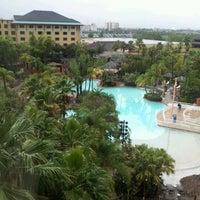 Photo taken at Loews Royal Pacific Resort at Universal Orlando by Patsy B. on 6/7/2012